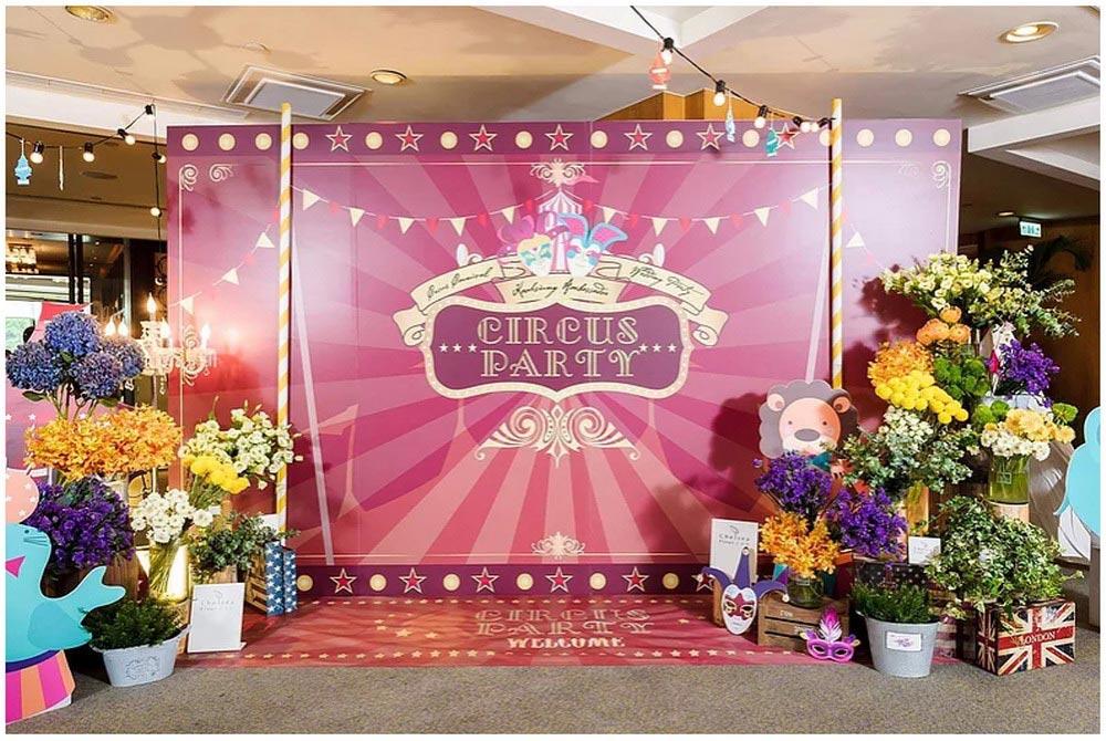 婚禮博覽會,高雄國賓大飯店,奇幻馬戲團,蕃薯糖婚禮藝術